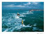 Poster photo Le Raz de Sein et la Pointe du Raz dans le Finistère