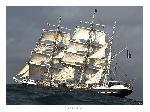 Poster photo Le Belem, trois-mâts barque français