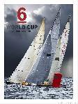 Affiche coupe du monde de 6 mètres JI en baie de Quiberon