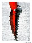 Poster photo Spi rouge en baie de Quiberon
