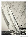 Poster photo Sous le vent d'un classique yacht