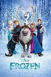 Affiche du film animé La Reine des neiges
