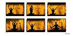 Poster photo Position de yoga