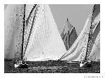 Poster photo Mur de voiles, classique yacht