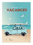 Poster photo illustration L'ambiance des vacances