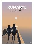 Poster photo illustration Romance estivale