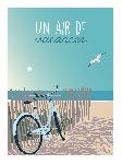Poster photo illustration Un air de vacances