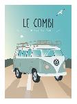 Poster photo illustration Le combi des vacances