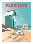 Poster photo illustration Farniente