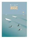 Poster photo illustration The last wave
