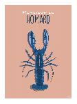 Poster photo illustration Monsieur le homard