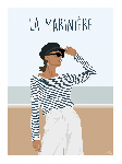 Poster photo illustration La marinière