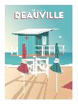 Poster photo illustration Un été à Deauville