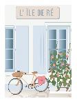 Poster photo illustration L'île de Ré
