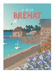 Poster photo illustration L'île de Bréhat