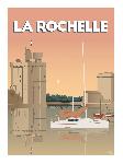 Poster photo illustration La Rochelle