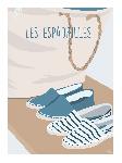 Poster photo illustration Les espadrilles