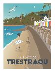 Poster photo illustration La plage de Trestraou
