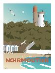 Poster photo illustration L'île de Noirmoutier