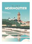Poster photo illustration Balade à Noirmoutier