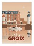Poster photo illustration L'île de Groix