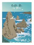 Poster photo illustration Belle-île-en-Mer