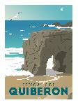 Poster photo illustration Presqu'île de Quiberon