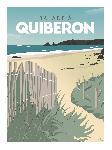 Poster photo illustration Balade à Quiberon