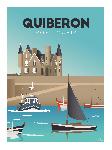 Poster photo illustration Quiberon, Port-Maria