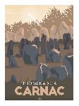 Poster photo illustration Promenade à Carnac