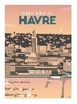 Poster photo illustration Week-end au Havre