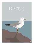 Poster photo illustration La mouette