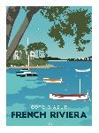 Illustration Côtes d'Azur, French Riviera
