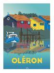 Poster illustration Oléron