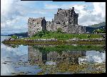 Impression sur aluminium Photo paysage Écossais