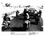 Photo en noir & blanc du film Mad Max