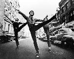 Photo noir & blanc du film West Side Story