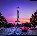 Impression sur aluminium Photo de Siegess ule à Berlin en Allemagne