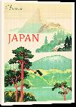 Toiles imprimées Illustration affiche ancienne Japon