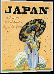 Impression sur aluminium Affiche illustration vintage rétro Japon