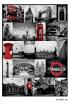 Affiche montage photo de Londres