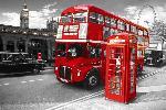 Affiche London Landmarks