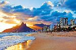 Affiche plage de Rio