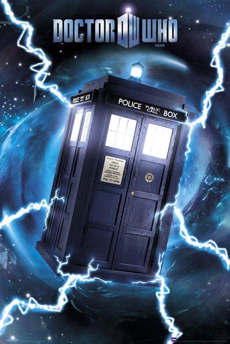 Poster Doctor Who Tardis Foil Poster Acheter Poster Doctor
