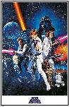 Poster du film Star Wars A New Hope (One Sheet)