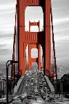 Affiche du Golden Gate de San Francisco