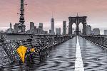 Affiche de Brooklyn Bridge Umbrella
