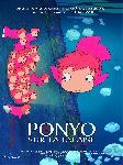 Affiche française du manga Ponyo sur la falaise
