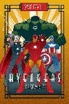 Affiche Marvel Déco Avengers
