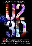 Poster du spectacle U2 3D